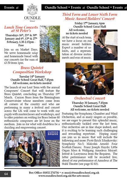 Oundle School Events