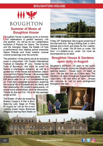 Boughton House July 2019