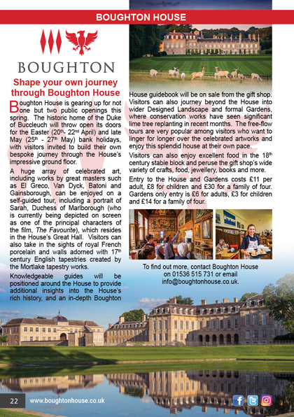 Boughton House March 2019