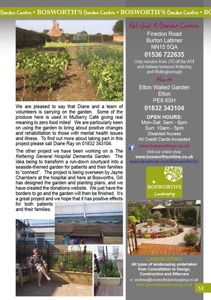 September and October Gardens 2018