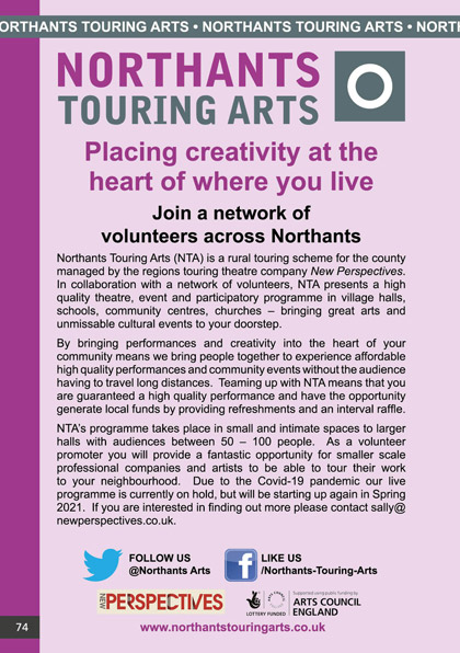 Northants Touring Arts (NTA)