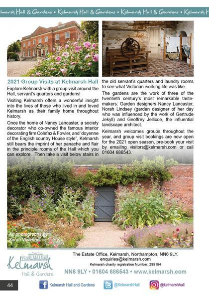 Kelmarsh Hall & Gardens September/October 2020