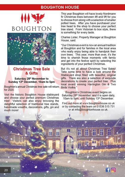 Boughton House Christmas 2020