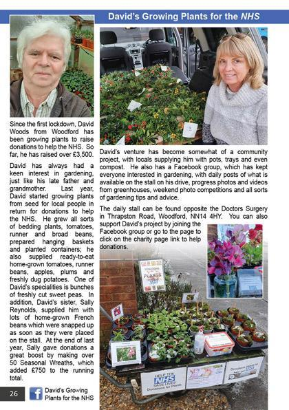 David's Growing Plants for the NHS