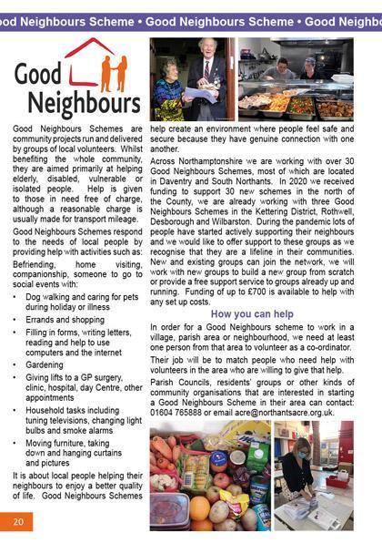 Good Neighbours Scheme