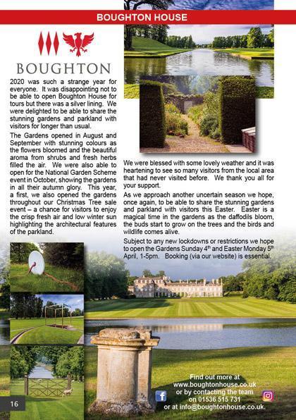 Boughton House March/April 2021
