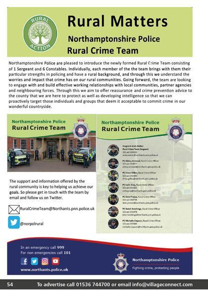 Northamptonshire Police Rural Crime Team