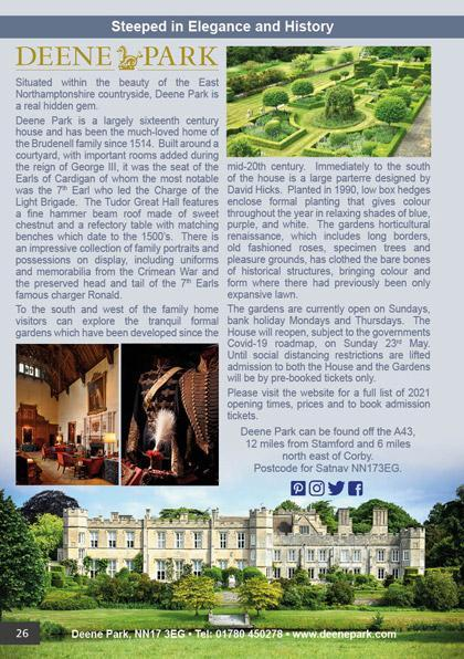 Deene Park - Steeped in Elegance and History