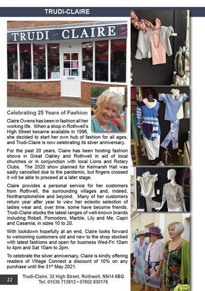 Trudi-Claire Celebrating 25 years of fashion