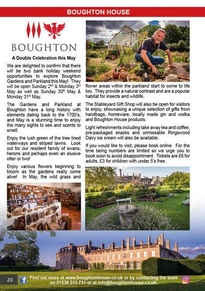 Boughton House May 2021