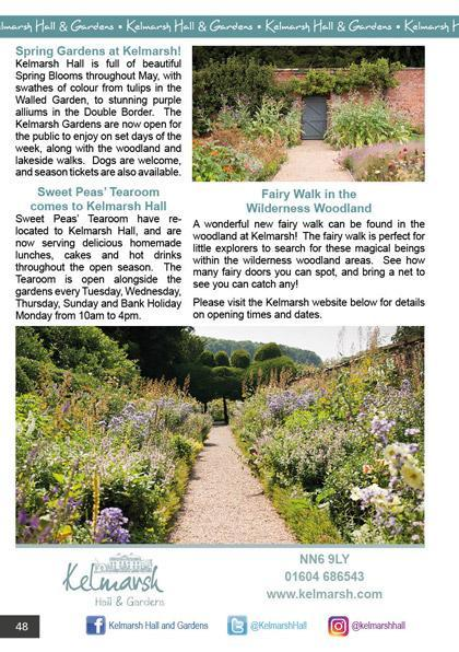 Kelmarsh Hall & Gardens May/June 2021