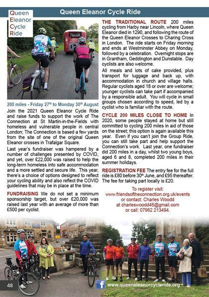2021 Queen Eleanor Cycle Ride