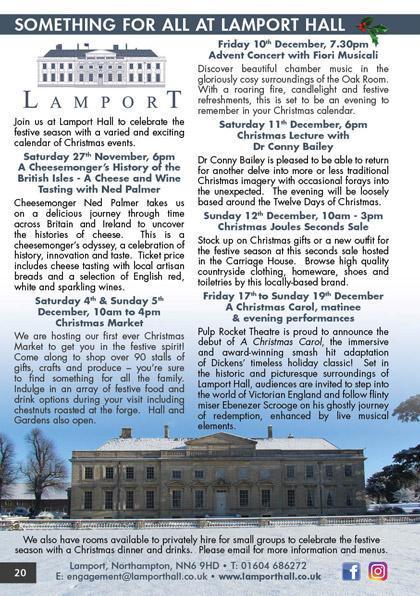 Lamport Hall 2021