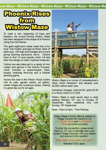 Wistow Maze 2021