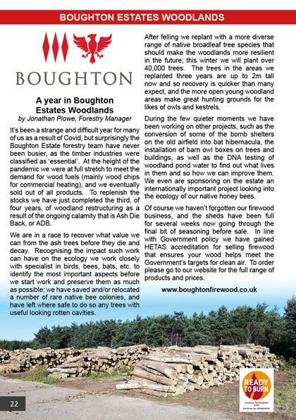 A year in Boughton Estates Woodlands